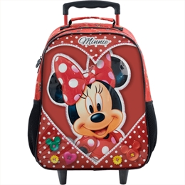 Mala com rodas Minnie Mouse Love