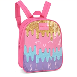 MOCHILA SLIME PINK UP4YOU PEQUENA